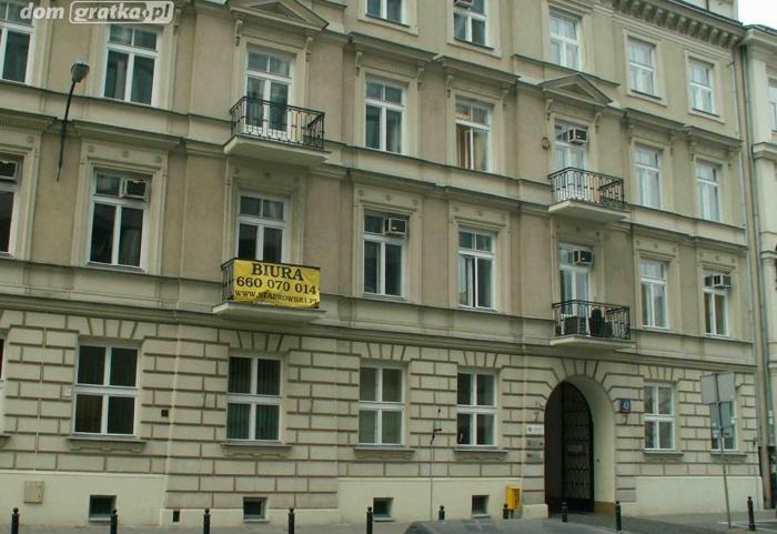 Lokal Warszawa Śródmieście, ul. Żurawia 43 2pomieszczenia, 4piętro, 1881rokbudowy, 50 PLN/m2 biuro