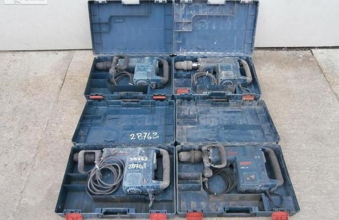 Młoty wyburzeniowe 4szt Bosch GSH 11E