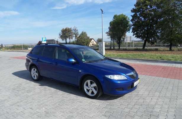 Mazda 6 2.0 Diesel , od Niemca,zadbana 2003