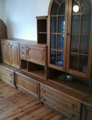 Meble drewniane (stylowe) + drewniany stół sprzedaż - Lubsko, Lubuskie - Krajoweogłoszenia.pl