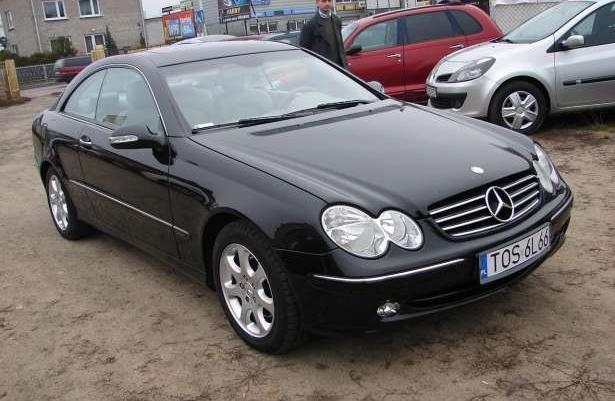 Mercedes-Benz CLK 270 CDI ELEGANCE 2004