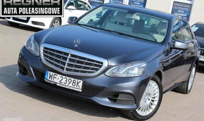 Mercedes-Benz Klasa E W212 Avantgarde 4Matic 204KM FV23% FULL LED Salon PL Navi Gwarancja