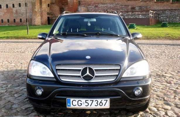 Mercedes-Benz ML 400 2001