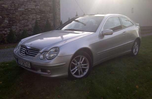 Mercedes CDI C220, 2003r, 143KM Sport/coupe - ZAMIANA na BMW E90 !!!