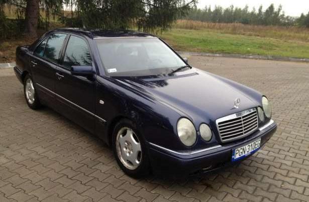 Mercedes w210 E300 TD W ładnym stanie Wielkopolska