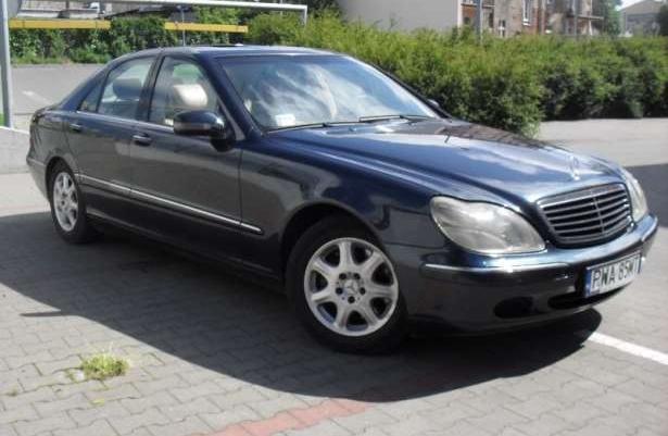 Mercedes w220 s320cdi zamiana