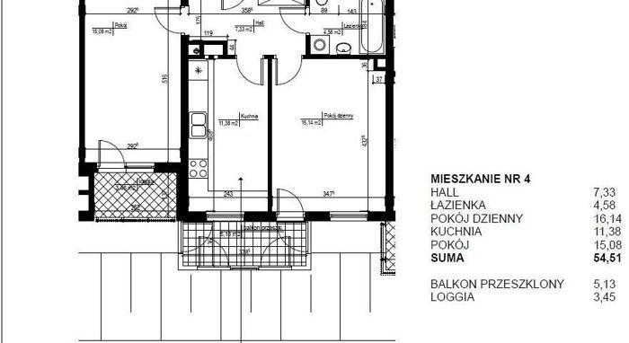 Mieszkanie Warszawa Bemowo, ul. Sochaczewska 2 pokoje, 1 piętro, 2012 rok budowy, 4 590 PLN/ m2