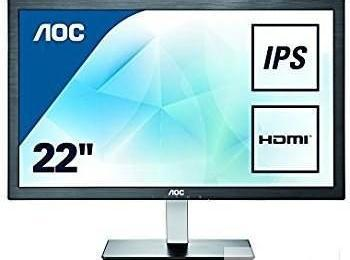 monitor AOC i2276Vwm full hd z hdmi vga duża ilość