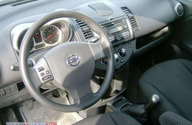 Nissan Note 40tys km Climatronik 2006 zamiana
