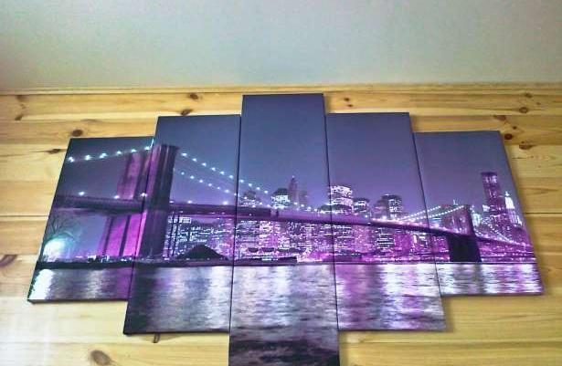 Obraz Tryptyk Miasto Most 150x100 Cm Sprzedaż Zielona Góra