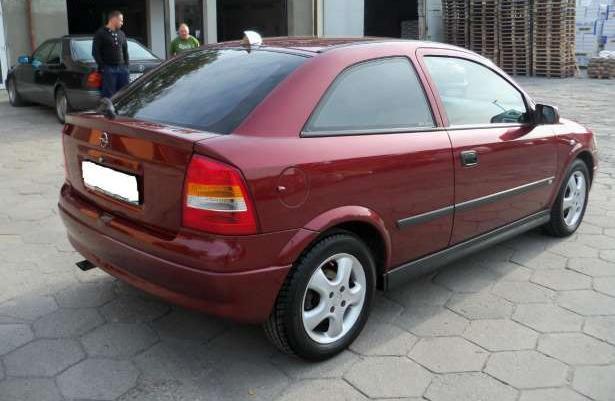 Opel Astra Idealna z Niemiec zarejstrowana w Polsce 1999 zamiana