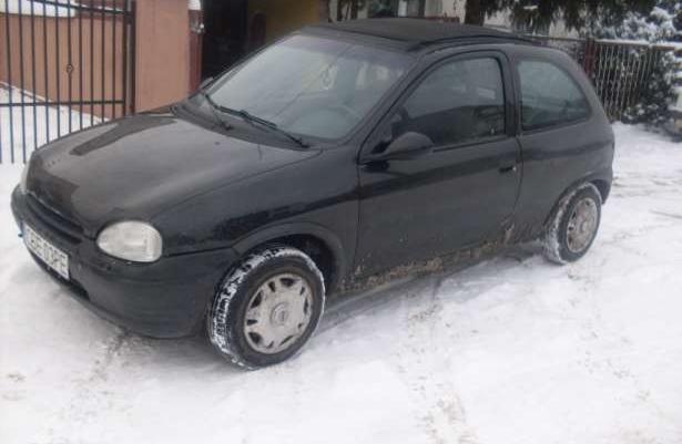 Opel corsa kabrio zamiana