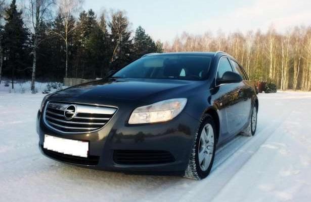 Opel Insignia JAK NOWY 100% Bezwypadkowy 2010