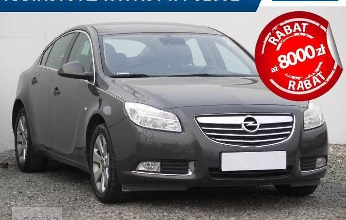 Opel Insignia , Klimatronic, Tempomat, Parktronic, Podgrzewane siedzienia