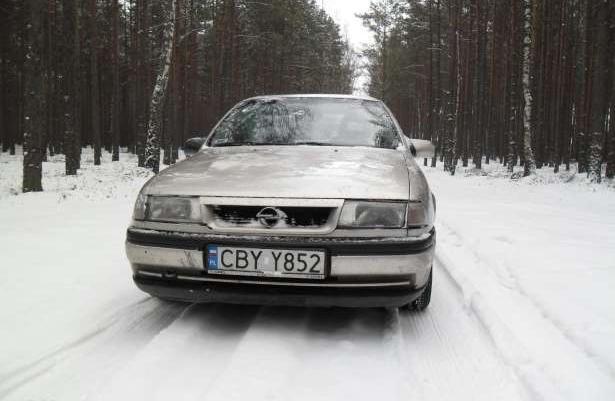Opel Vectra 1,7 diesel isuzu 1993