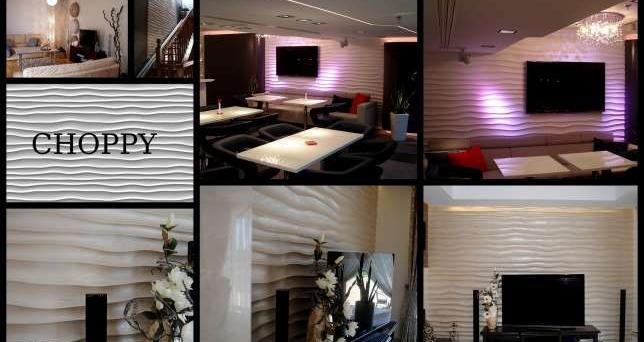 Panele Dekoracyjne 3d Firmy Dunes Wzór Choppy Sprzedaż