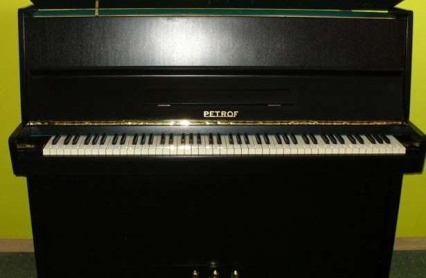 Petrof pianino idealne czarne
