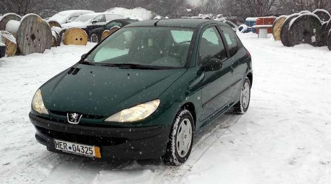 Peugeot 206 OKAZJA - >> Sprawdź << 1999
