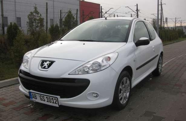 Peugeot 206 plus 2011r. 1.4 HDI ECO