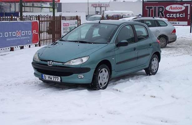 Peugeot 206 po opłatach