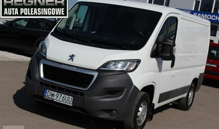 Peugeot Boxer II 2.2HDI 130KM Salon PL 1WŁ FV23% Klimatyzacja Gwarancja
