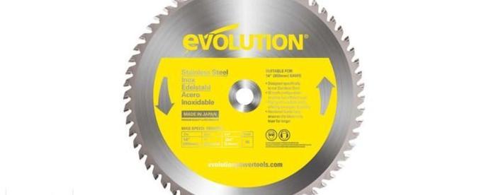 Piła tarczowa widiowa Evolution 355mm do cięcia aluminium Nowy produkt