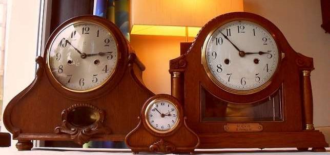 Piękne Stare Zegary Na Prezent Lub Dekorację Gustav Becker