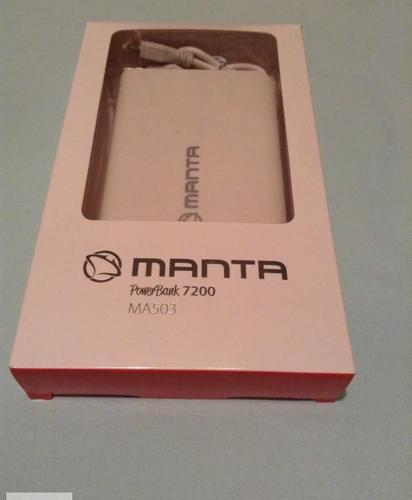 Power bank Manta – przenośna ładowarka akumulator Nowy produkt