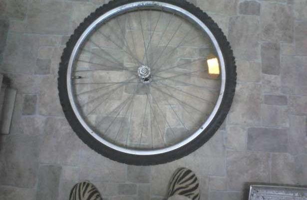 Przednie koło + opona do roweru .