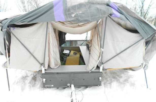 W Mega Przyczepa kempingowa namiotowa sprzedaż - Włocławek, Kujawsko RM78