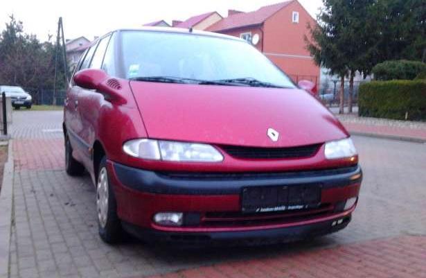 Renault Espace III 2,0 8v 97r-Zadbany z NIEMIEC,SZYBERDACH,klima