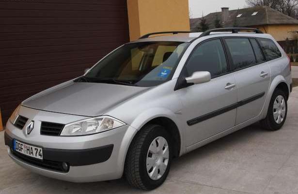 Renault Megane Niemiec opłacony LuxePrivileg 2005