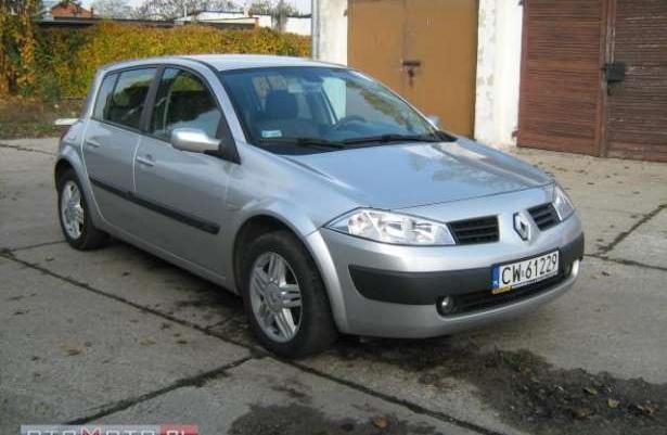 Renault Megane Zarejestrowana Klimatronik 2006