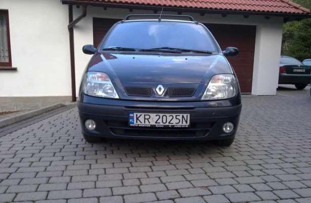 Renault Scenic KRAJOWY 1 WŁAŚCICIEL SERWIS 2001