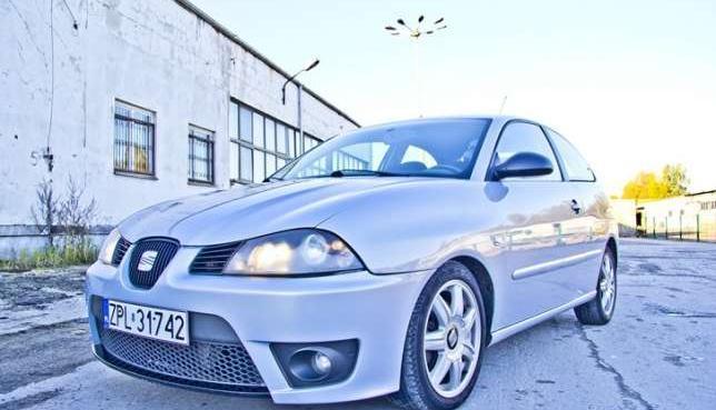 Seat Ibiza 6L 2003r. 1.9 TDi 164KM Sport --> Cupra