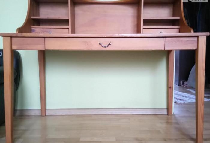 Sekretarzyk &&& Stół &&& Biurko - drewniany IKEA