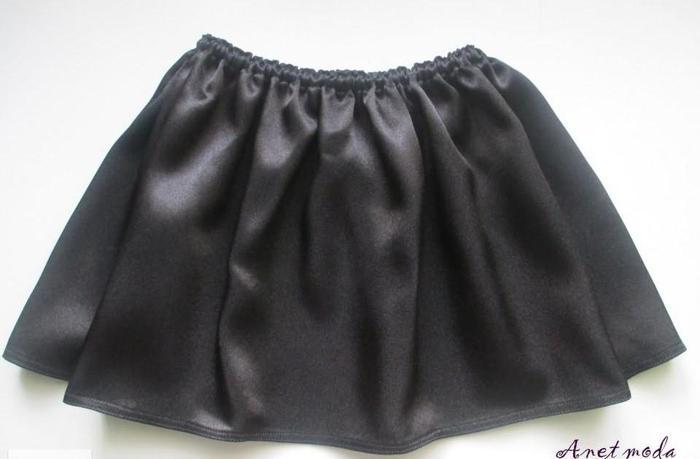 Spódnica wizytowa czarna dla dziewczynki rozm 116 122 Nowy produkt