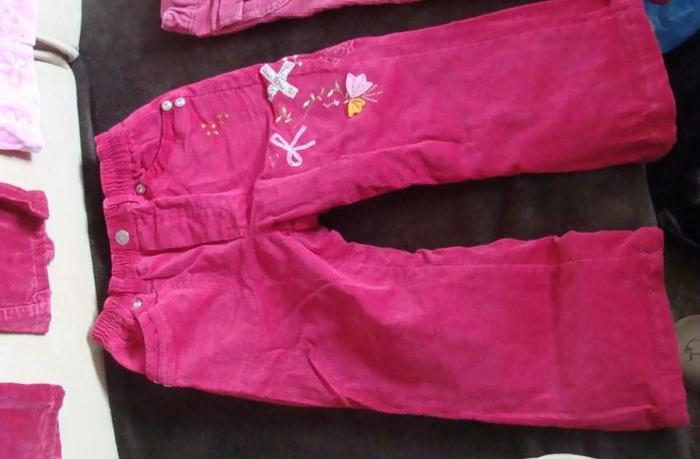spodnie dziewczęce rozmiar 104- 8 par