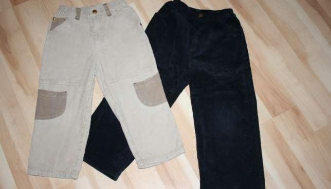 Spodnie sztruksowe dla chłopca (2 szt.), rozm. 104
