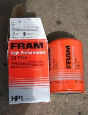 Sportowy filtr oleju FRAM HP1