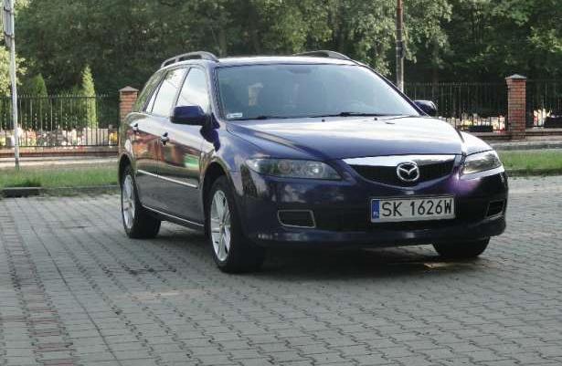 Sprzedam Mazda 6 kombi 2.0diesel,121KM