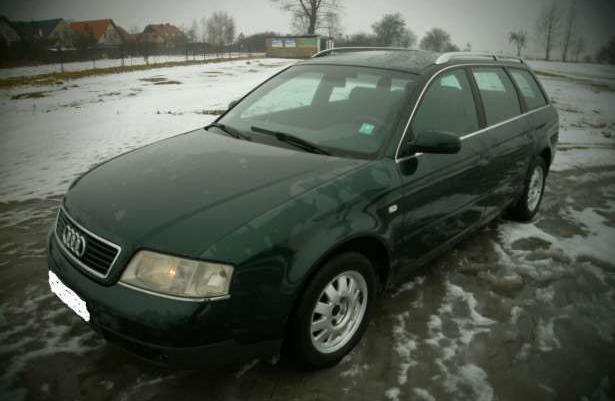 Sprzedam Piękne Audi A6 2.5TDI Stan IDEALNY! Bezwypadkowy! WARTO!