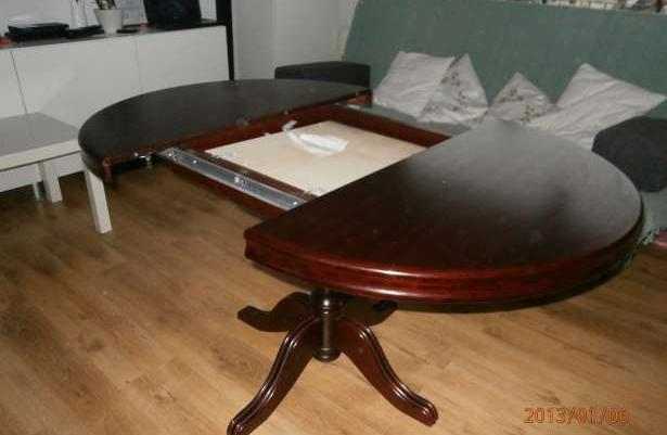 Sprzedam Stół Okrągły Rozkładany Krzesła Gratis Sprzedaż Rumia