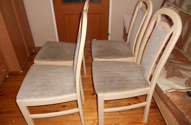 Stół Okrągły Rozkładany 4 Krzesła Sprzedaż Kołobrzeg