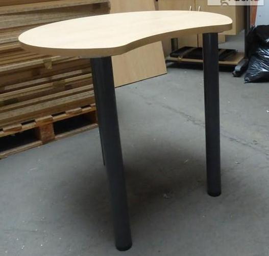 Stolik biurowy Furniko buk 80cm (AW552) - meble biurowe