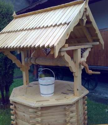 Studnia Drewnianastudnie Dekoracyjneobudowa Studni