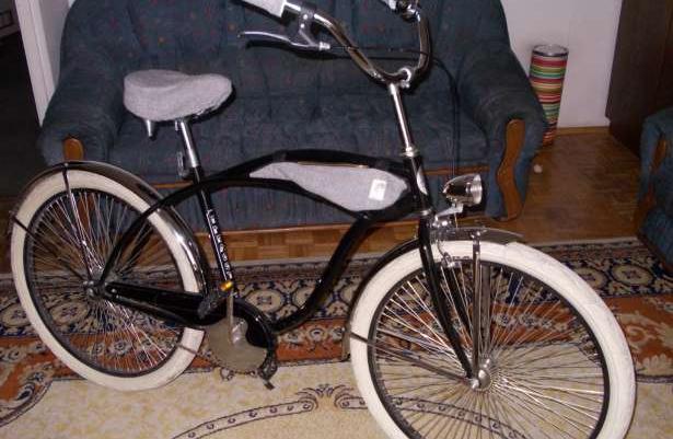 Stylowy rower beach cruiser