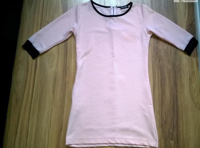 Sukienka / tunika pudrowy róż Nowy produkt