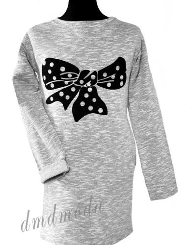 Sukienka tunika z kokardą Nowy produkt