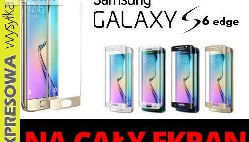 Szkło hartowane SAMSUNG GALAXY S6 Edge cały ekran Nowy produkt